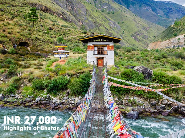 Highlights of Bhutan Tour by Drukair holidays
